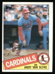 1985 Topps #551  Andy Van Slyke  Front Thumbnail