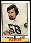 1974 Topps #492  Mark Nordquist  Front Thumbnail