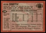 1983 Topps #148  Ron Smith  Back Thumbnail