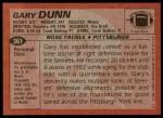 1983 Topps #361  Gary Dunn  Back Thumbnail
