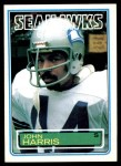 1983 Topps #386  John Harris  Front Thumbnail