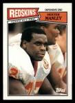 1987 Topps #76  Dexter Manley  Front Thumbnail