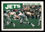 1987 Topps #126   -  Freeman McNeil / Al Toon / Jerry Holmes / Bobby Humphrey / Joe Klecko / Kyle Clifton Jets Leaders Front Thumbnail