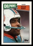 1987 Topps #240  Reggie Roby  Front Thumbnail