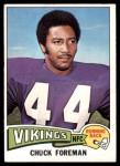 1975 Topps #240  Chuck Foreman  Front Thumbnail