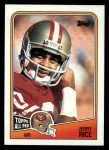 1988 Topps #43  Jerry Rice  Front Thumbnail