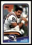 1988 Topps #153  Steve Jordan  Front Thumbnail