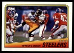 1988 Topps #162   -  Earnest Jackson / John Stallworth / Dwayne Woodruff / Mike Merriweather / David Little Steelers Leaders Front Thumbnail