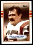 1989 Topps #30  Max Montoya  Front Thumbnail