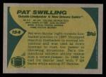 1989 Topps #154  Pat Swilling  Back Thumbnail
