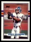1989 Topps #245  Vance Johnson  Front Thumbnail