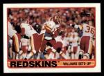 1989 Topps #250   -  Doug Williams / Kelvin Bryant / Ricky Sanders / Barry Wilburn / Dexter Manley / Alvin Walton Washington Redskins Leaders Front Thumbnail