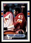 1989 Topps #254  Barry Wilburn  Front Thumbnail