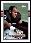 1989 Topps #274  Greg Townsend  Front Thumbnail