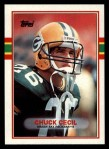 1989 Topps #380  Chuck Cecil  Front Thumbnail