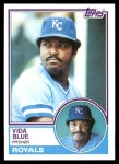 1983 Topps #570  Vida Blue  Front Thumbnail