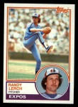 1983 Topps #686  Randy Lerch  Front Thumbnail