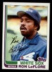 1982 Topps #140  Ron LeFlore  Front Thumbnail