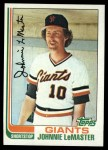 1982 Topps #304  Johnnie LeMaster  Front Thumbnail