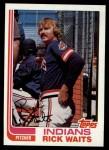 1982 Topps #573  Rick Waits  Front Thumbnail