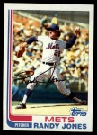 1982 Topps #626  Randy Jones  Front Thumbnail