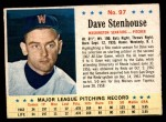 1963 Post Cereal #97  Dave Stenhouse  Front Thumbnail