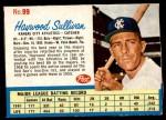 1962 Post Cereal #99  Haywood Sullivan   Front Thumbnail