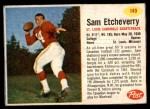 1962 Post Cereal #149  Sam Etcheverry  Front Thumbnail