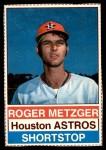 1976 Hostess #67  Roger Metzger  Front Thumbnail
