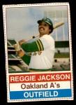 1976 Hostess #146  Reggie Jackson  Front Thumbnail