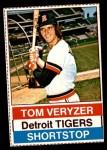 1976 Hostess #109  Tom Veryzer  Front Thumbnail