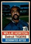 1976 Hostess #26  Willie Horton  Front Thumbnail