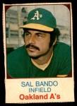 1975 Hostess #4  Sal Bando  Front Thumbnail