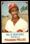 1975 Hostess #137  Willie Montanez  Front Thumbnail