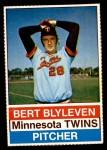 1976 Hostess #116  Bert Blyleven  Front Thumbnail