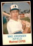 1975 Hostess #105  Mike Jorgensen  Front Thumbnail
