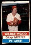 1976 Hostess #99  Wilbur Wood  Front Thumbnail