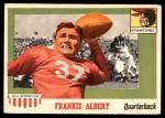 1955 Topps #67  Frankie Albert  Front Thumbnail