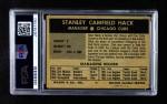 1954 Wilson Franks  Stan Hack  Back Thumbnail