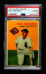 1954 Wilson Franks  Paul Richards  Front Thumbnail