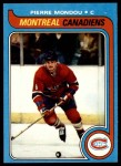 1979 Topps #211  Pierre Mondou  Front Thumbnail