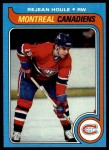 1979 Topps #34  Rejean Houle  Front Thumbnail