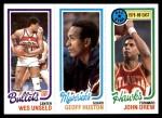 1980 Topps   -  Wes Unseld / Geoff Huston / John Drew 251 / 67 / 5 Front Thumbnail