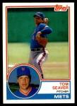1983 Topps Traded #101 T Tom Seaver  Front Thumbnail