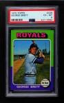 1975 Topps #228  George Brett  Front Thumbnail