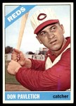 1966 Topps #196  Don Pavletich  Front Thumbnail