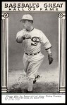 1948 Hall of Fame Exhibits  Ed Walsh  Front Thumbnail