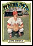 1972 Topps #786  Chuck Brinkman  Front Thumbnail