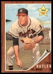 1962 Topps #239  Cecil Butler  Front Thumbnail