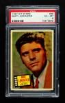1957 Topps Hit Stars #68  Burt Lancaster   Front Thumbnail